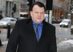 Raimondas Baranauskas arrives at Westminster Magistrates Court in central London