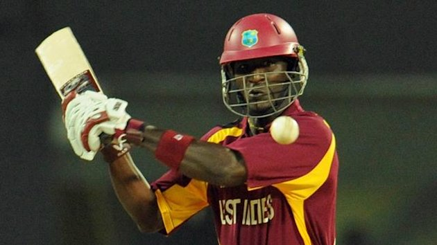 West Indies' captain Darren Sammy