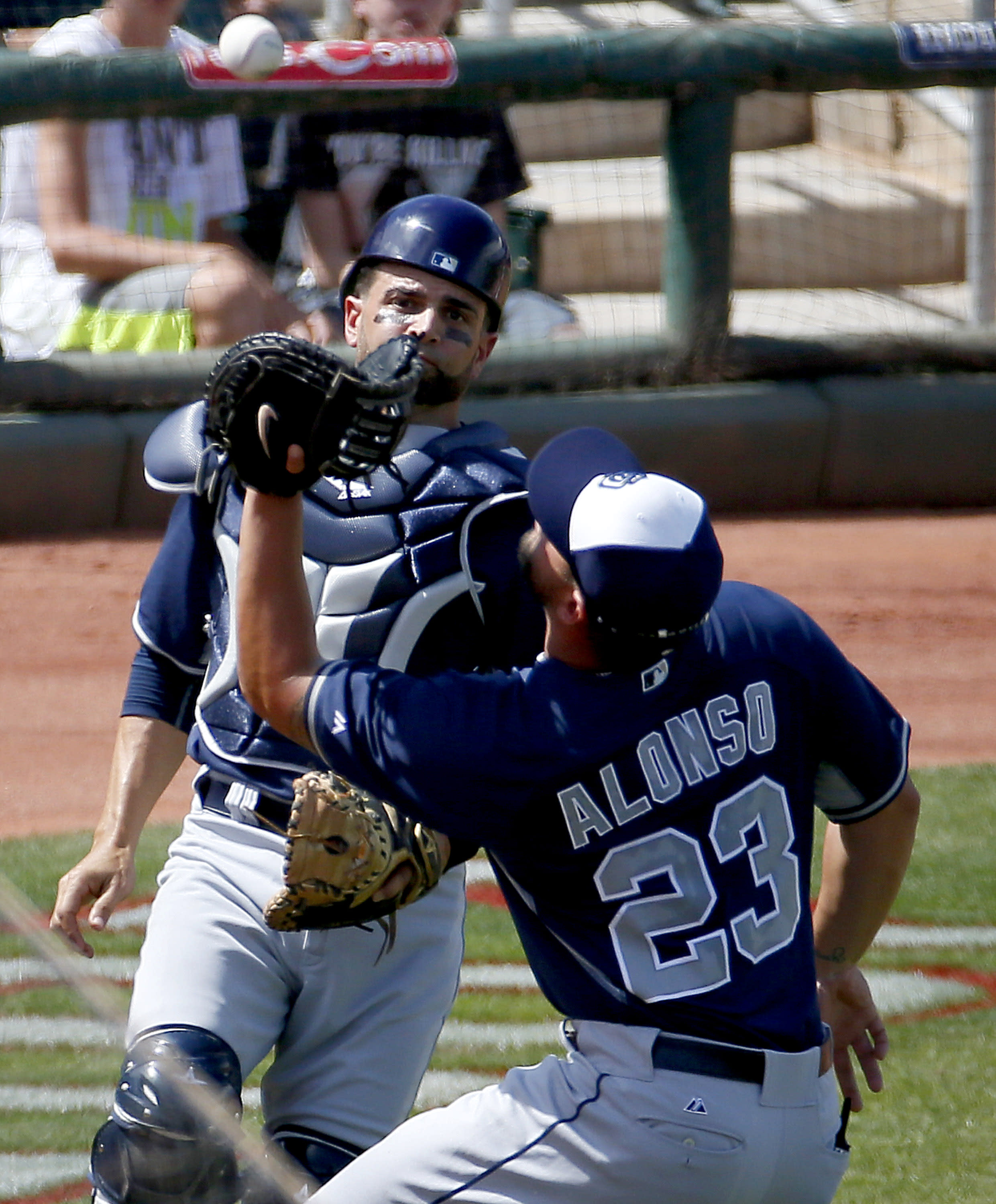 Padres hit 3 homers off DeSclafani, beat Reds 6-3