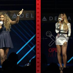 Serena Williams & Laverne Cox Sing Karaoke
