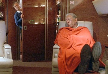 Jack Nicholson and Morgan Freeman in Warner Bros. Pictures' The Bucket List