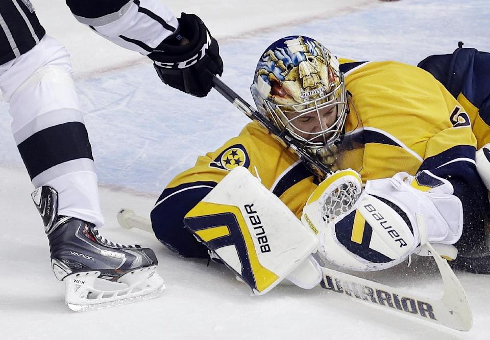 Predators goalie Pekka Rinne out at least 4 weeks