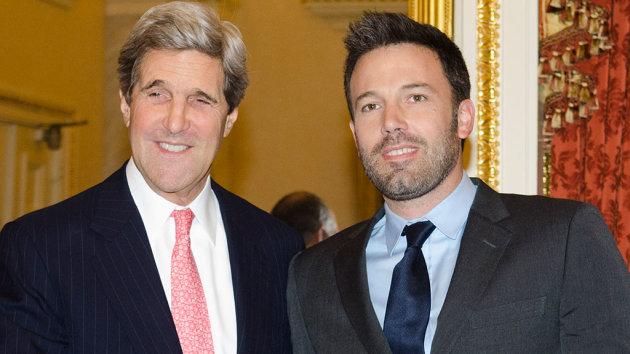 John Kerry and Ben Affleck