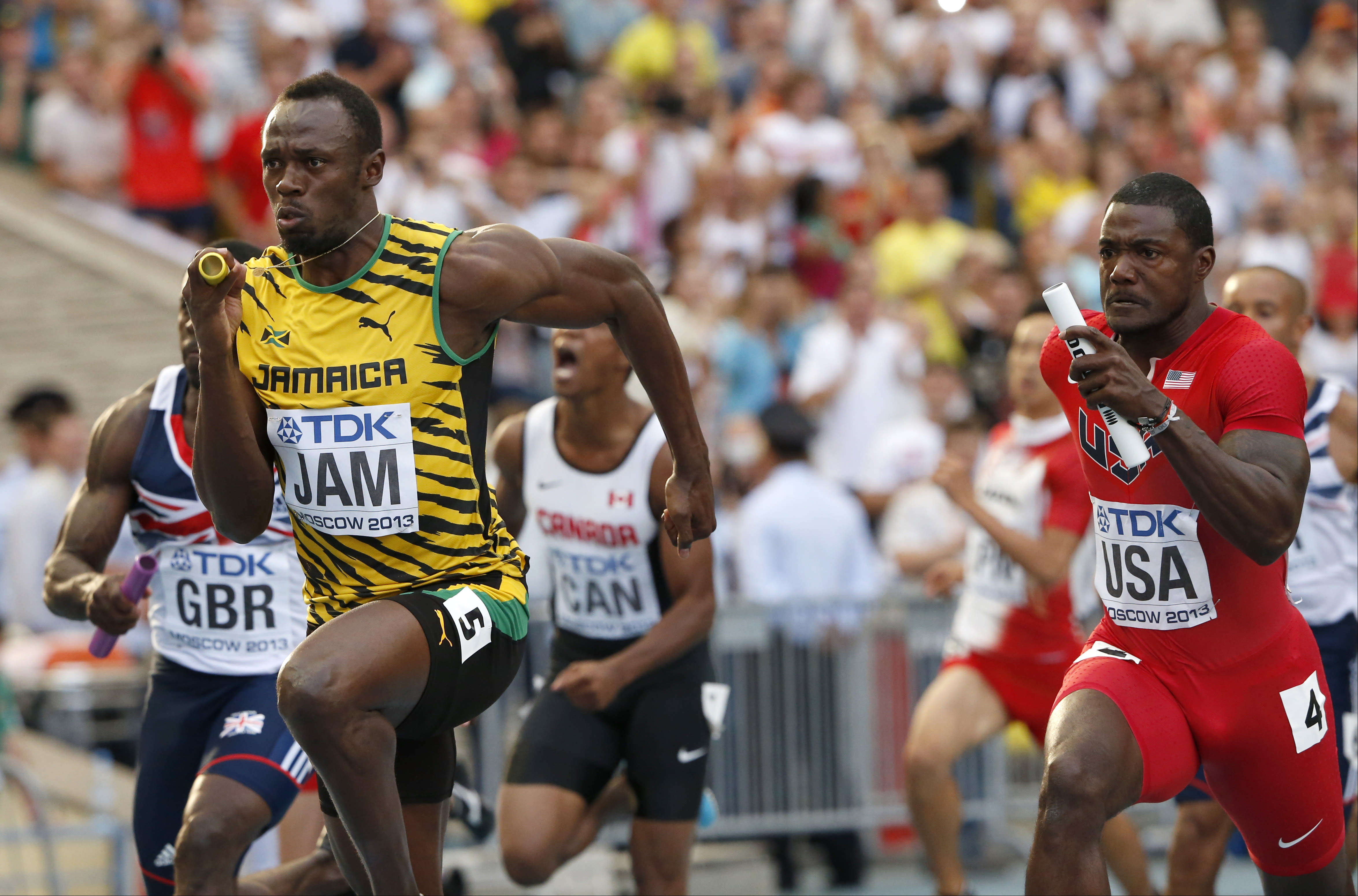 Usain Bolt getting back into shape ahead of worlds