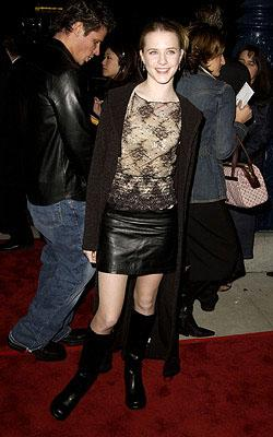 Evan Rachel Wood at the Beverly Hills premiere of I Am Sam