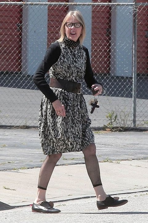 Diane Keaton Out InLA