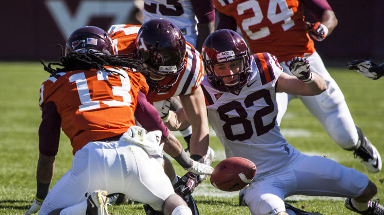 NCAA Football: Virginia Tech-Spring Game