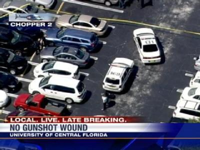 Officials: No Gunshot Wounds On Body Found At UCF