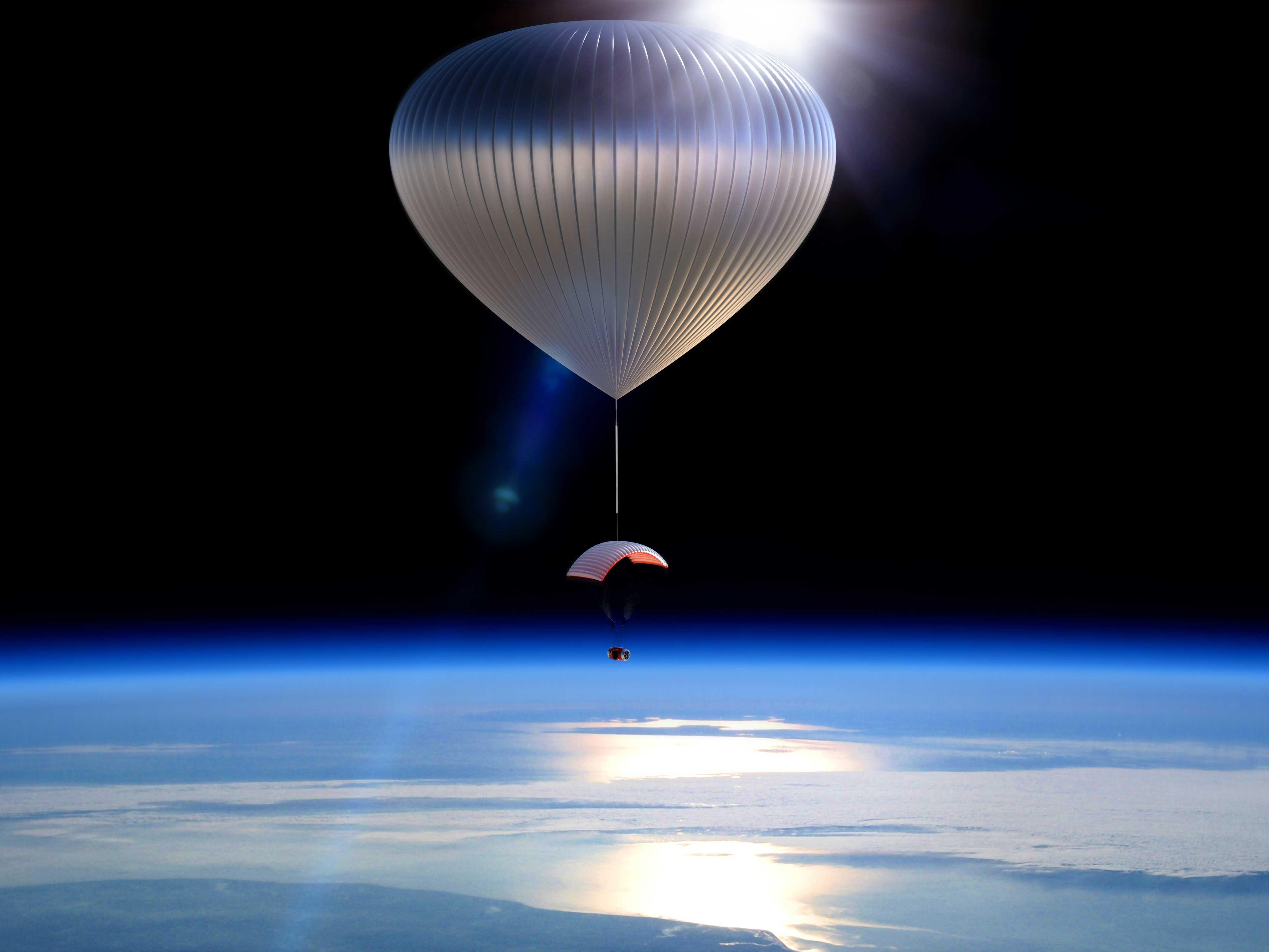 'Edge of space' tourism company World View just flew a balloon two times higher than we ever have before