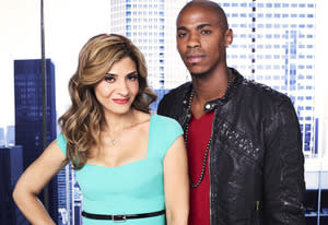 Callie Thorne, Mehcad Brooks | Photo Credits: James White/USA Network