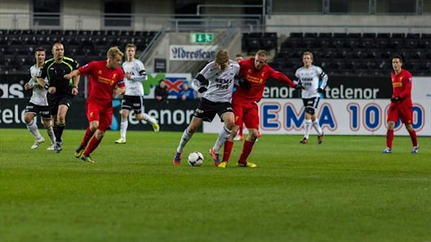 Liverpool v Rosbenborg in the NextGen Series