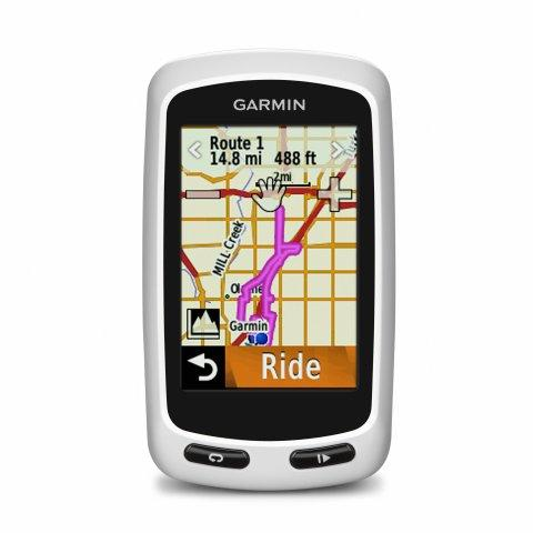 Garmin® Edge® Touring and Edge Touring Plus — New GPS Devices Designed For Navigating By Bike