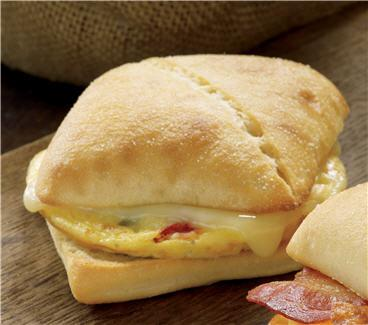 Starbucks Veggie, Egg and Monterey Jack Artisan Breakfast Sandwich