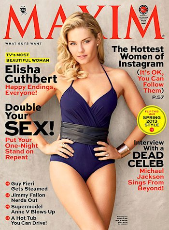 Elisha Cuthbert Named TV&#39;s Most Beautiful Woman by Maxim Magazine
