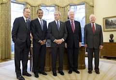 Living_US_Presidents_2009