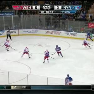 Braden Holtby Save on Ryan McDonagh (01:42/1st)