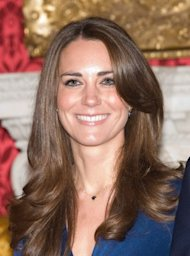 Kate's smile after her reported makeover. (Getty Images)