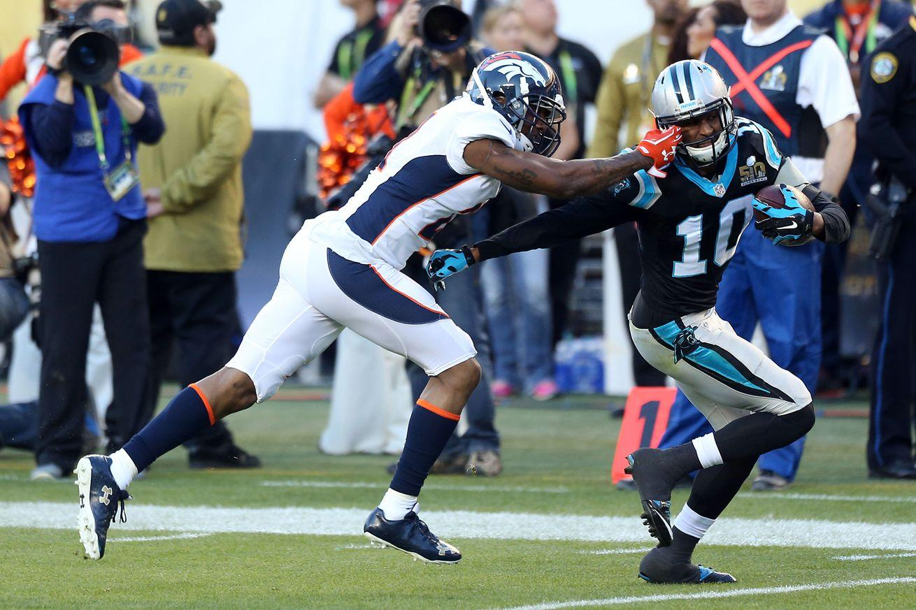 Aqib Talib facing possible suspension for personal foul he committed 'on purpose'