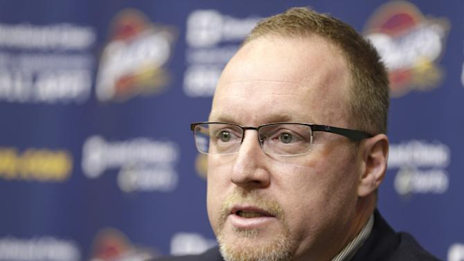 Cavs acting GM Griffin: 'We're all under review'