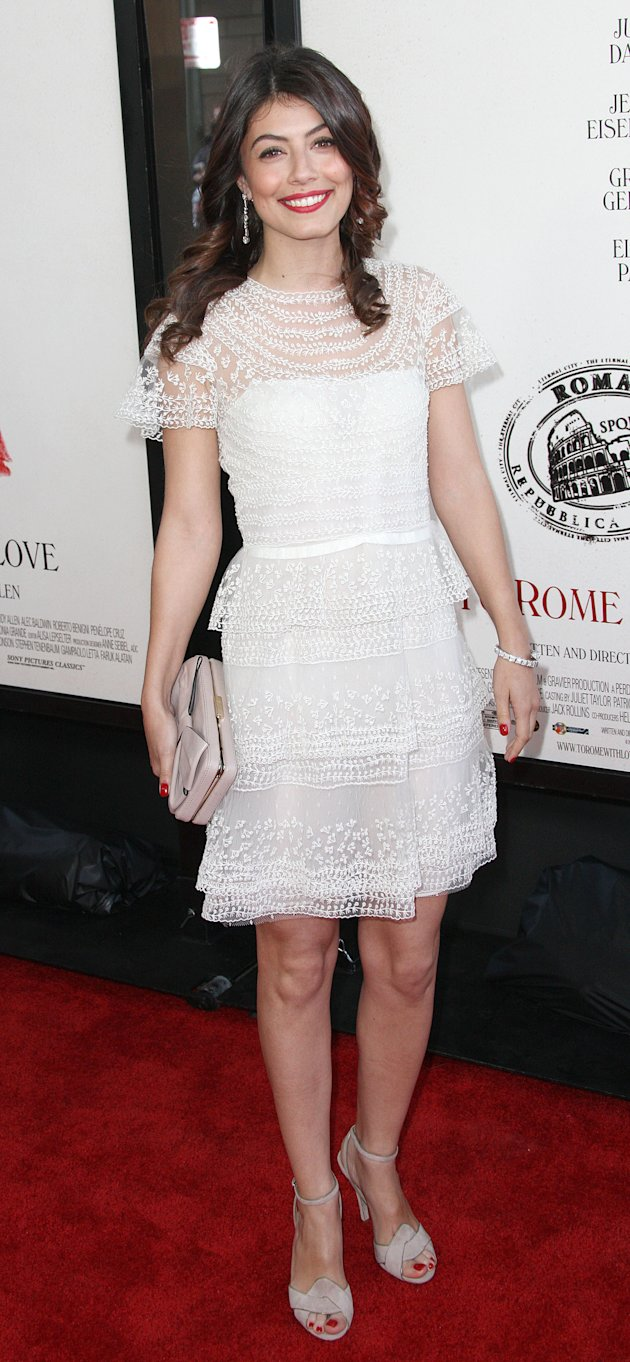 "Alessandra Mastroianni at the LA Film Festival premiere of ""To Rome With Love"""