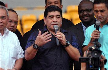 Maradona: I will not support Argentina