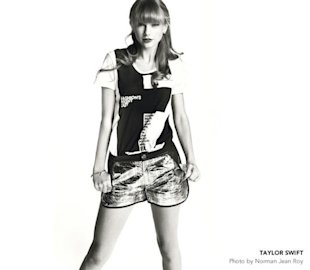Taylor Swift campaigns for Fashion's Night Out