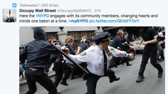 Bashtag: NYPD Twitter campaign backfires