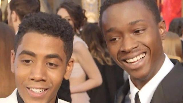 The Cast of Moonlight's Enthusiasm at the Oscars Is Infectious
