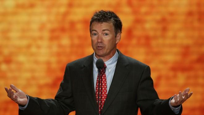 Tea Party darling Rand Paul, for one, isn't exactly stumping against immigration reform during his recess.