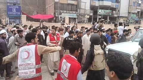 Our colleagues in the #RedCrescent are responding after a large #earthquake hit Afghanistan and Pakistan. The Afghan Red Crescent have mobilised emergency response teams for search and rescue. The emergency response teams from the Pakistan Red Crescent are also transporting people to hospital and distributing medicines and essential items. Photos: #Pakistan Red Crescent http://ift.tt/1We3GbM