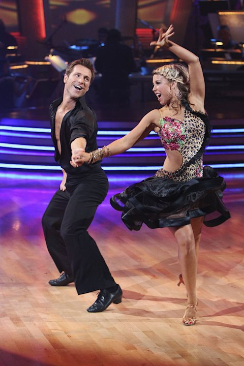 Chelsie Hightower and Jake Pavelka on &quot;Dancing with the Stars.&quot; 