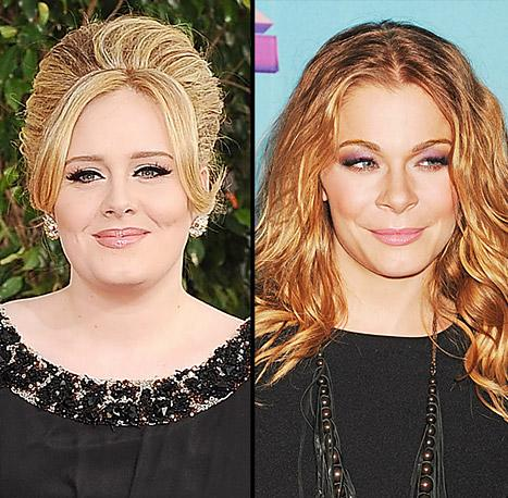"Adele Steps Out With Newborn Son, LeAnn Rimes Slams Brandi Glanville for ""Ridiculous"" Feud: Today's Top Stories"