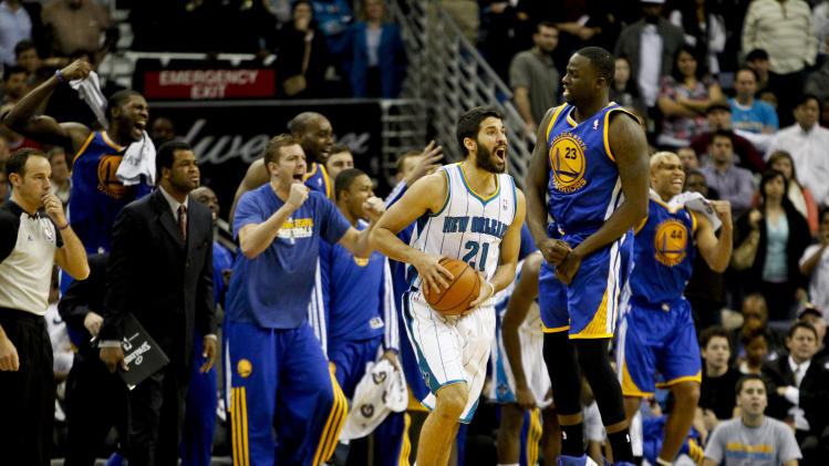 NBA: Golden State Warriors at New Orleans Hornets