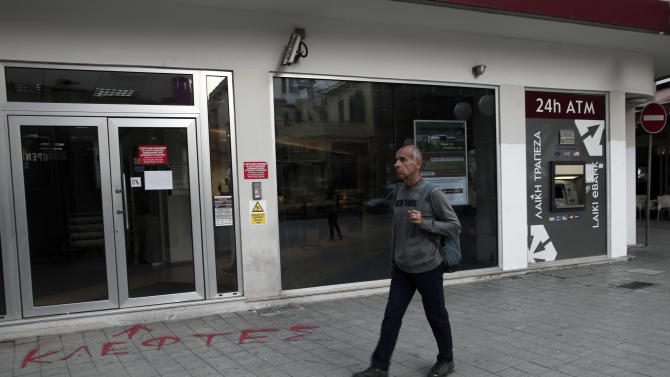 Cypriot officials: Plan B drawn up to get bailout