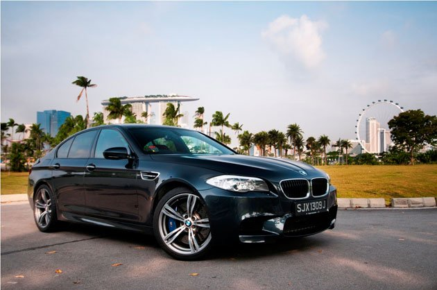 The BMW M5 has become a best-seller in Singapore despite its hefty price tag. (Photo courtesy of Adrian Wong)