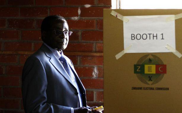 Mugabe Opponent Calls Zimbabwe's Election a 'Huge Farce'