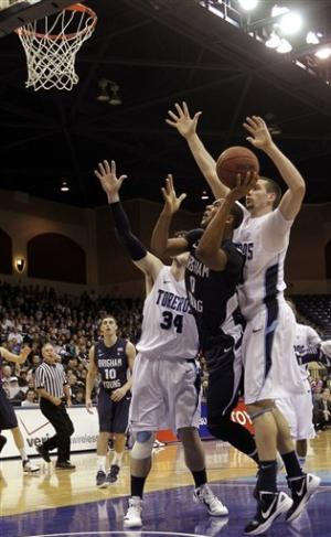 Zylstra leads BYU to 82-63 win over San Diego