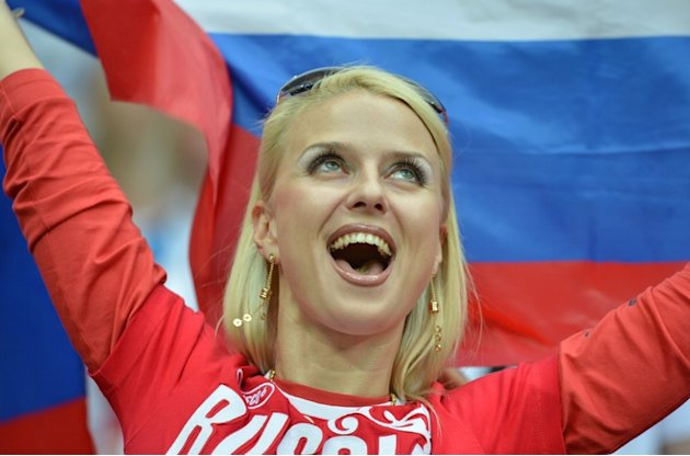 A Russian Supporter Is AFP/Getty Images