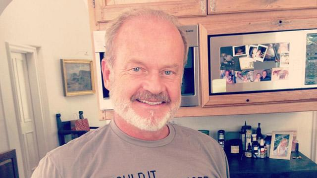 Kelsey Grammer and Wife Kayte Wear Controversial Anti-Abortion T-Shirts