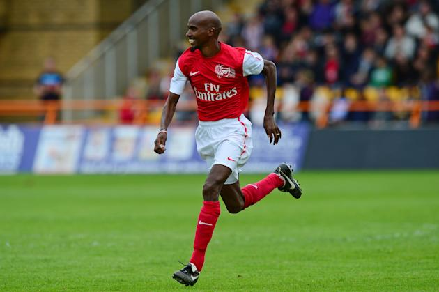 Arsenal Legends XI v World Refugee Internally Displaced Persons (IDP) XI
