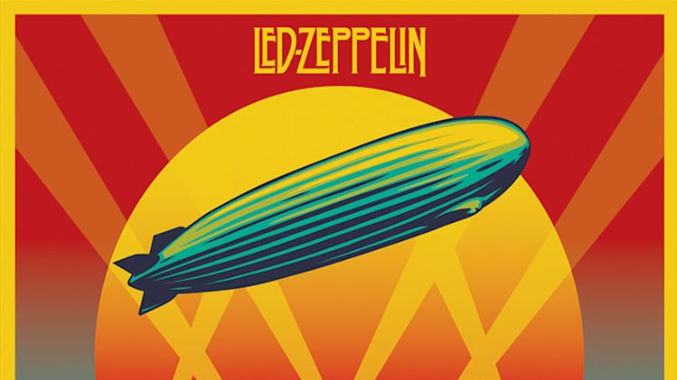 "This cover image released by Atlantic Records shows the box set for Led Zeppelin's ""Celebration Day."" (AP Photo/Atlantic)"