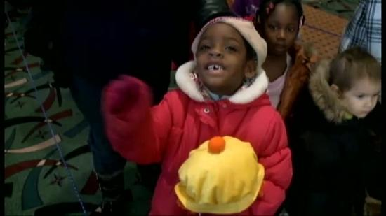 Thousands attend Salvation Army Christmas dinner