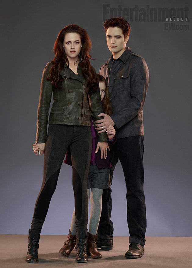 "Foto Anak Bella dan Edward di ""Breaking Dawn Part 2"""