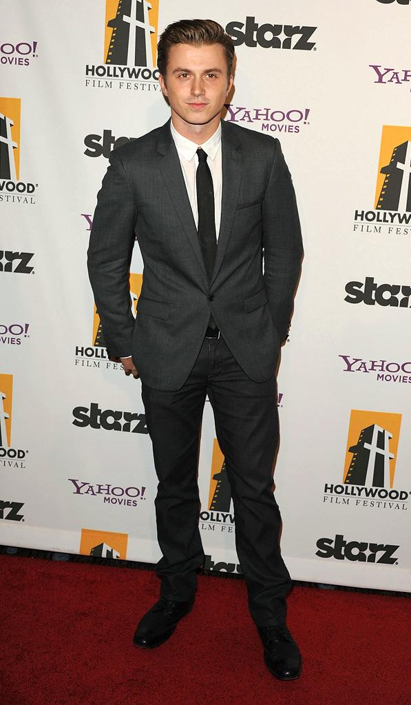 15th Annual Hollywood Film Awards Kenny Wormald