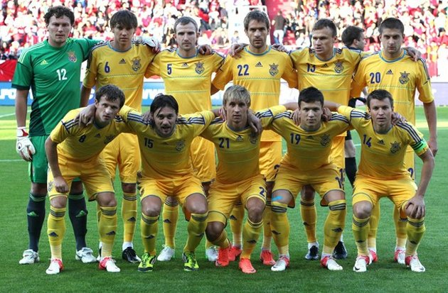 The Ukrainians who weren't poisoned enough to miss the friendly defeat to Turkey (Getty)