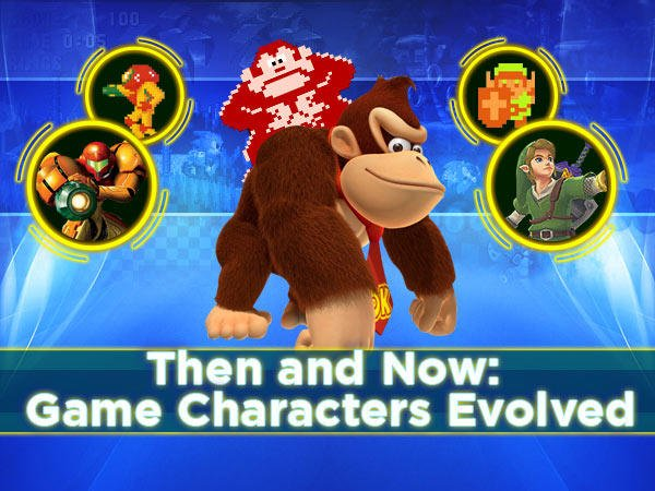 Then and Now: Game Characters Evolved