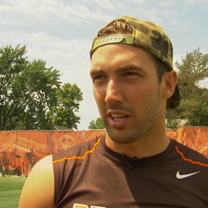 Cleveland Browns tight end Jordan Cameron positive about Browns direction