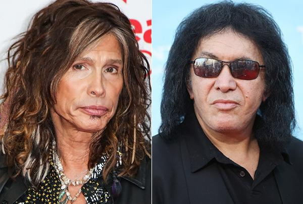 Aerosmith Call Kiss a 'Comic Book Rock Band'