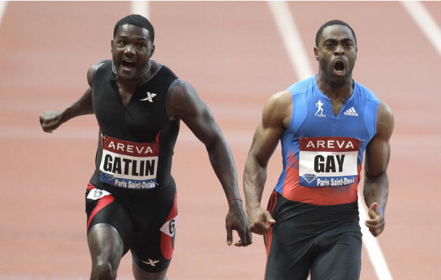 Gay defeats Gatlin