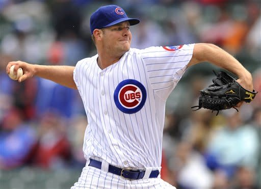 Freese, Lynn lead Cardinals over Cubs 5-1